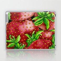 Fresh Strawberries Laptop & iPad Skin