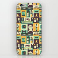 risa rodil iPhone & iPod Skins featuring Empty Hearse by Risa Rodil