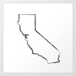 California State Art Print