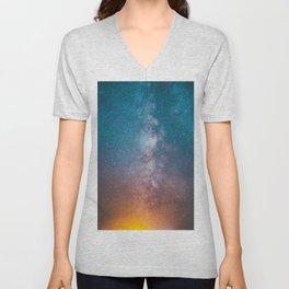 Galaxy Unisex V-Neck