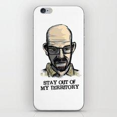 Mr. White iPhone & iPod Skin