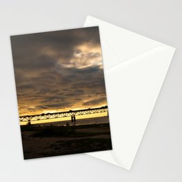 Waiting on the Sun to set Stationery Cards