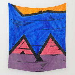 Nonconforming Triangular Hi-Five Wall Tapestry