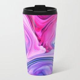 Marble Pastel / Melting Marble Metal Travel Mug