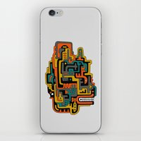 foo fighters iPhone & iPod Skins featuring Foo Dog by dAM 11