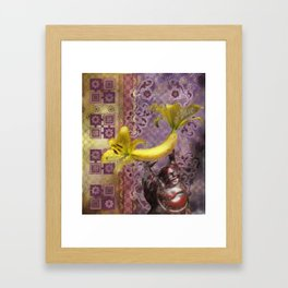 New Buddha Iconography Framed Art Print