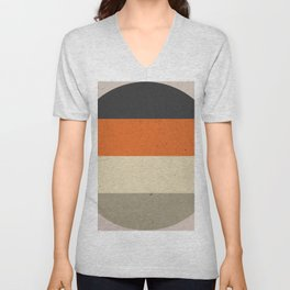 COLOR PATTERN III - TEXTURE Unisex V-Neck