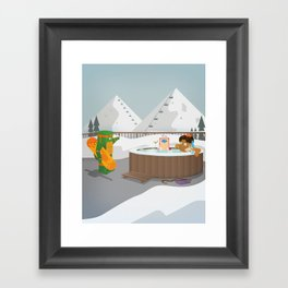 The Nick Yorkers in Faburary Framed Art Print