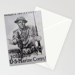 World War Stationery Cards