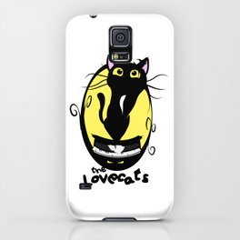 The Lovecats - Illustration The Cure song iPhone Case