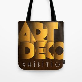Art Deco Exhibition Poster Tote Bag