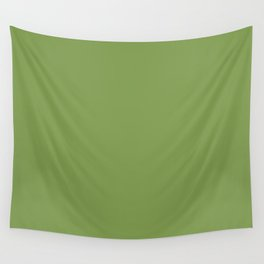 Floss Your Teeth ~ Grass Green Wall Tapestry