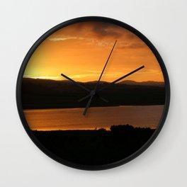 Sunrise - Ben Lowmond - Tasmania Wall Clock