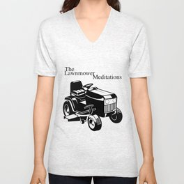 The Lawnmower Meditations Unisex V-Neck