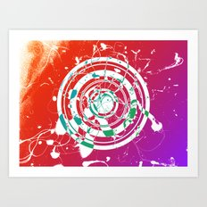 Lavaman Vask Har Art Print