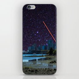 Stars in Vancouver Harbor iPhone Skin