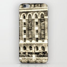 Hays Galleria London Vintage iPhone Skin