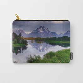 Mt. Moran at Oxbow Bend Carry-All Pouch
