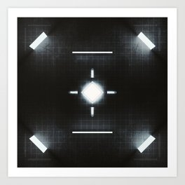20160217 | NOTHING BUT CUBES Art Print