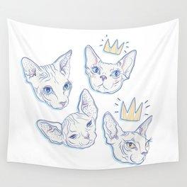 Sphynx Kitties Wall Tapestry