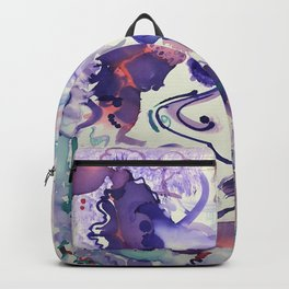 Psychedelic Strawberry Fields Backpack