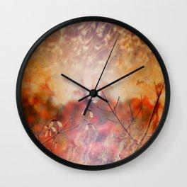 Fire Horizon Wall Clock