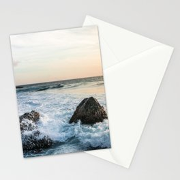 Rocks and the Ocean Stationery Cards