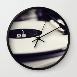 Koji Vinyl Wall Clock