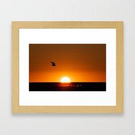 Mermaid Cove Sunrise Framed Art Print