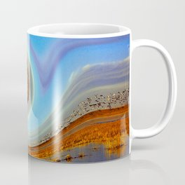 Wave of Birds and Wetlands Coffee Mug