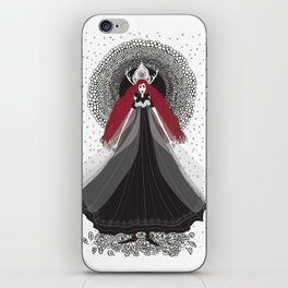 Morena - Slavic Goddess of winter and rebirth of nature iPhone Skin