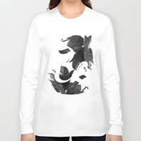 botanical Long Sleeve T-shirts featuring Botanical Ampersand by Tamsin Lucie