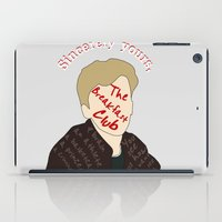 the breakfast club iPad Cases featuring The Breakfast Club - Brian by Swell Dame