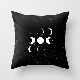 To the moon and back Throw Pillow