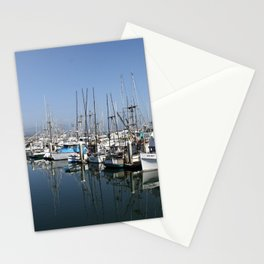 Harbor At Half Moon Bay Stationery Cards