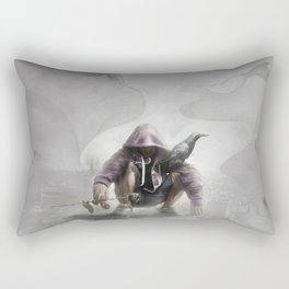 The Crow of Zagreb Rectangular Pillow