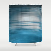 under the sea Shower Curtains featuring Under Sea by Lena Weiss