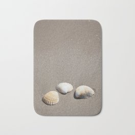 Three Seashells Bath Mat