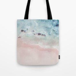 Ocean Pink Blush Tote Bag