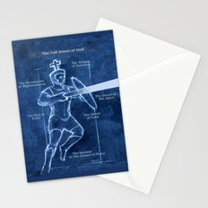Full Armor of God - Warrior 3 Stationery Cards