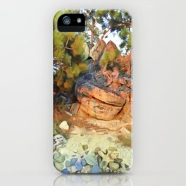Sunset on the Rocks - Tahoe iPhone Case