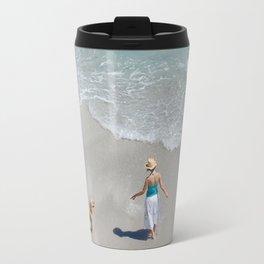 Morning on Clifton Beach Travel Mug
