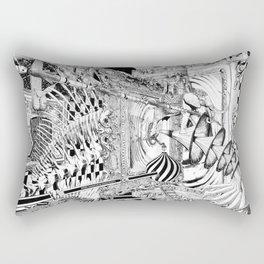 LA DIMENSIÓN DE CALABI-YAU O UNA TARDE EN EL BELLAGIO Rectangular Pillow