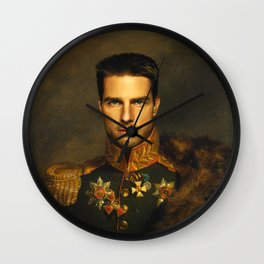 Tom Cruise - replaceface Wall Clock