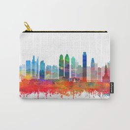 Philadelphia City Skyline Watercolor by zouzounioart Carry-All Pouch