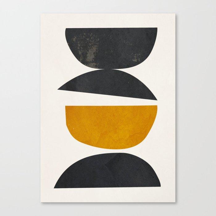 abstract minimal 23 Canvas Print