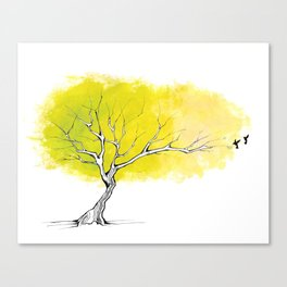 The Hummingbird Tree Canvas Print