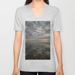 Dawn Bridge Unisex V-Neck