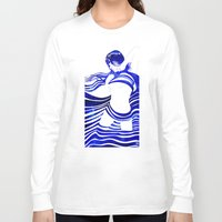 celestial Long Sleeve T-shirts featuring Celestial II by Stevyn Llewellyn