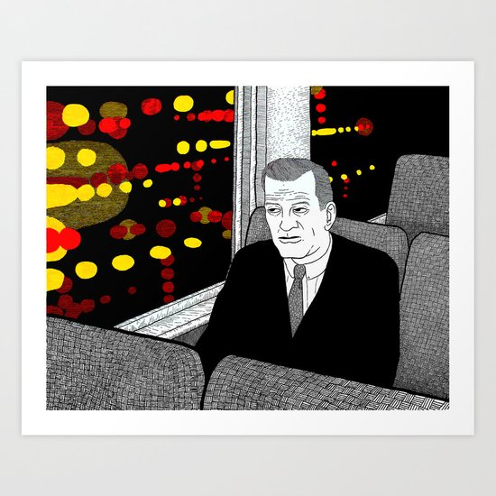 A Stop at Willoughby Art Print